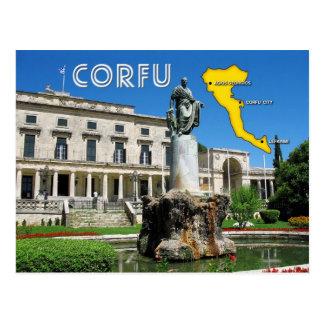Palaia Anaktora, Corfu, Greece Postcard