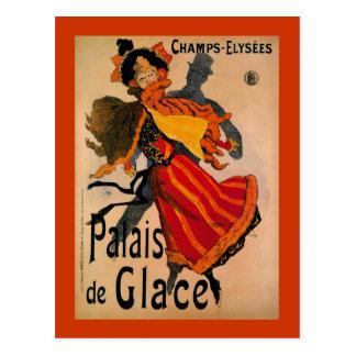 Palais De Glace 1896 Art Nouveau Advertisement Postcards