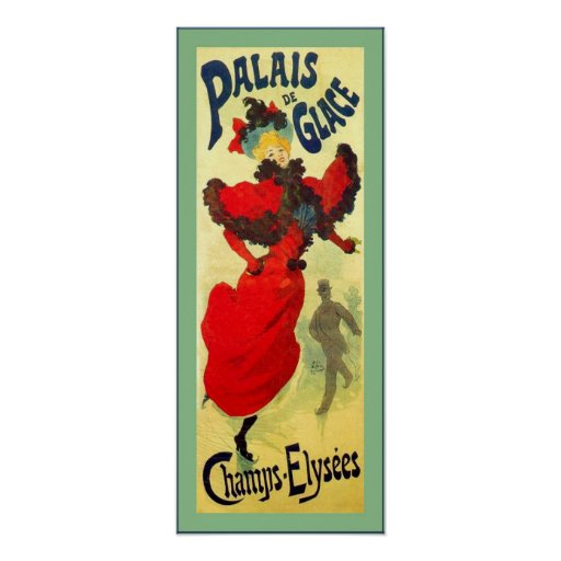 Palais de Glace ~ Vintage French Advertising Print