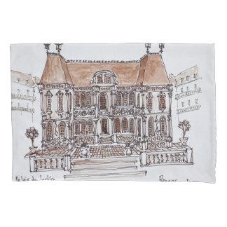 Palais de Justice Courthouse | Rennes, Brittany Pillowcase
