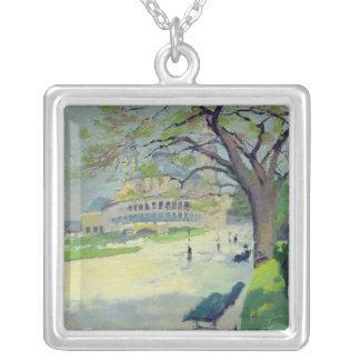 Palais du Trocadero Silver Plated Necklace