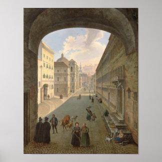 Palais Lodron, Salzburg, 1833 Poster