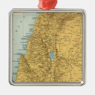 Palastina - Palestine Atlas Map Christmas Ornament