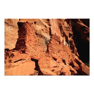 Palataki Pueblo Ruins, Sedona Arizona Photo Art