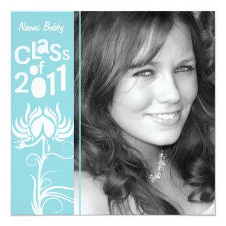 Palatial Lush 2011 Baby Blue Class of 2011 Invite