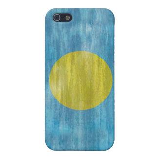 Palau distressed flag iPhone 5/5S cases
