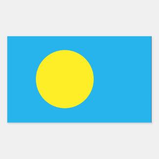 Palau Flag Rectangular Sticker