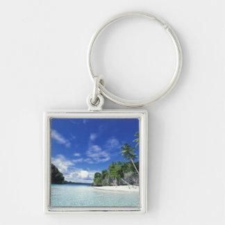 Palau, Rock Islands, Honeymoon Island, World Key Ring