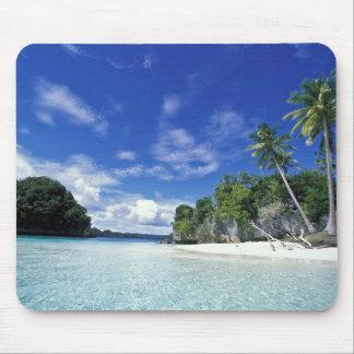 Palau, Rock Islands, Honeymoon Island, World Mouse Mat