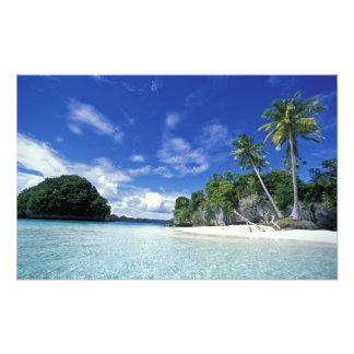 Palau, Rock Islands, Honeymoon Island, World Photo Print