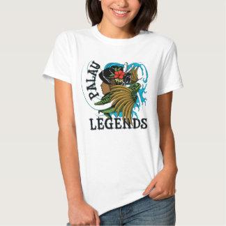 Palau Turtle & Grass Skirt Legend Tshirts