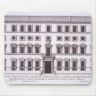 Palazzo Chigi, Piazza Colonna, Rome, from 'Palazzi Mouse Mat