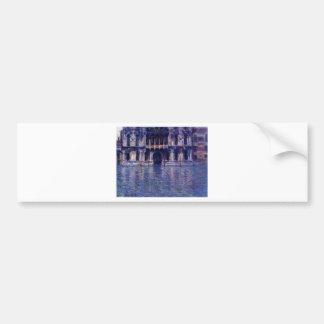 Palazzo Contarini by Claude Monet Bumper Sticker