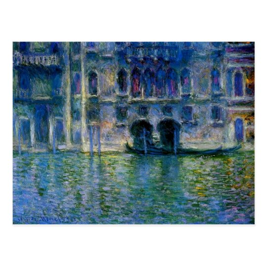 Palazzo da Mula at Venice by Claude Monet