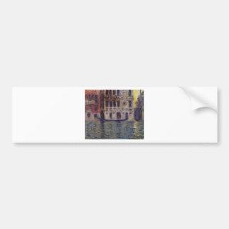Palazzo Dario 3 by Claude Monet Bumper Sticker
