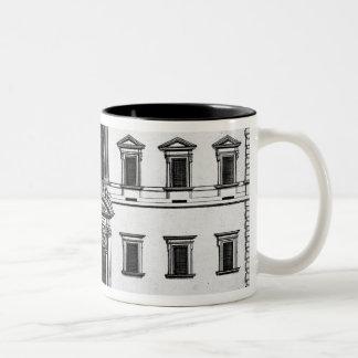 Palazzo del Quirinale, from 'Palazzi di Roma', par Two-Tone Coffee Mug
