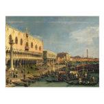 Palazzo Ducale and the Riva degli Schiavoni, Venic Post Cards