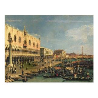 Palazzo Ducale and the Riva degli Schiavoni, Venic Postcard