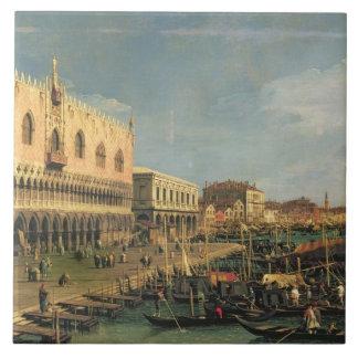 Palazzo Ducale and the Riva degli Schiavoni, Venic Tile