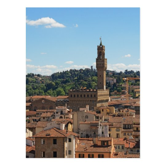Palazzo Vecchio of Florence Postcard