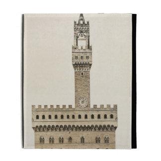 Palazzo Vecchio, or the Palazzo della Signoria, Fl iPad Folio Cover