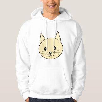 Pale Amber Color Cat. Hoodie