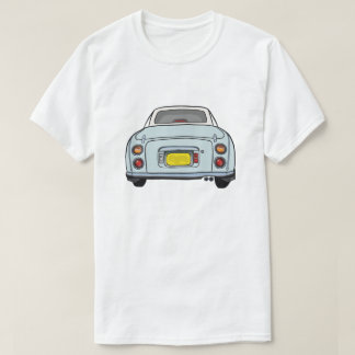 Pale Aqua Figaro Car T Shirt