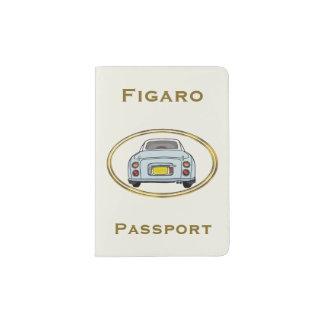 Pale Aqua Nissan Figaro Car Passport Cover