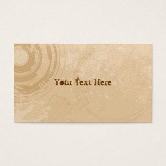 Pale Beige Grunge Business Cards