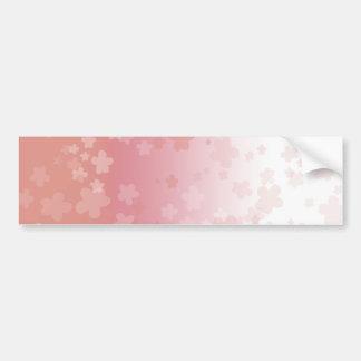 Pale Blossoms Pink Bumper Sticker