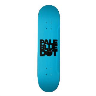 Pale Blue 19.7 Cm Skateboard Deck