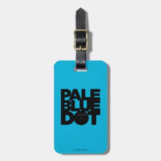Pale Blue Bag Tag