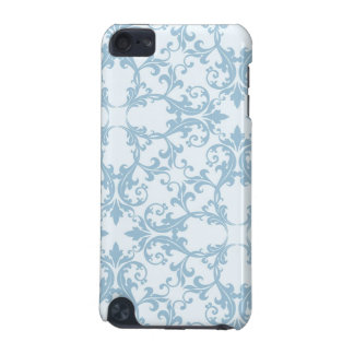 Pale Blue Damask iPod Touch 5G Cover