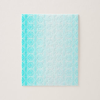 Pale Blue Linked Background Jigsaw Puzzle