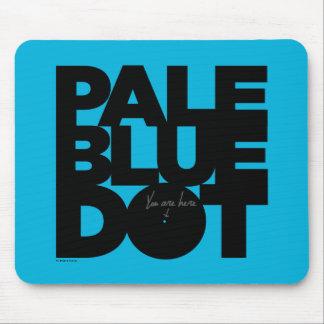 Pale Blue Mouse Pad