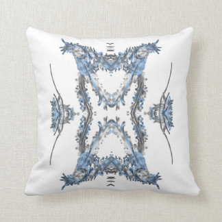 Pale blue pillow