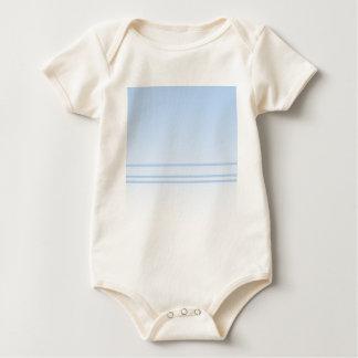 Pale Blue Simple Elegant Design. Baby Bodysuit