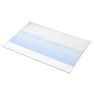 Pale Blue Simple Elegant Design. Placemat