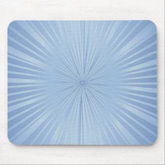 pale blue sunbursts mousepad