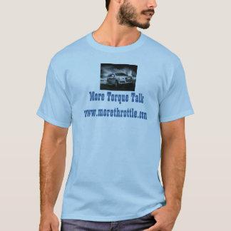 pale blue T Shirt branded Torque Talk