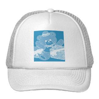 Pale Blue Teddy Bear for Boys Hats