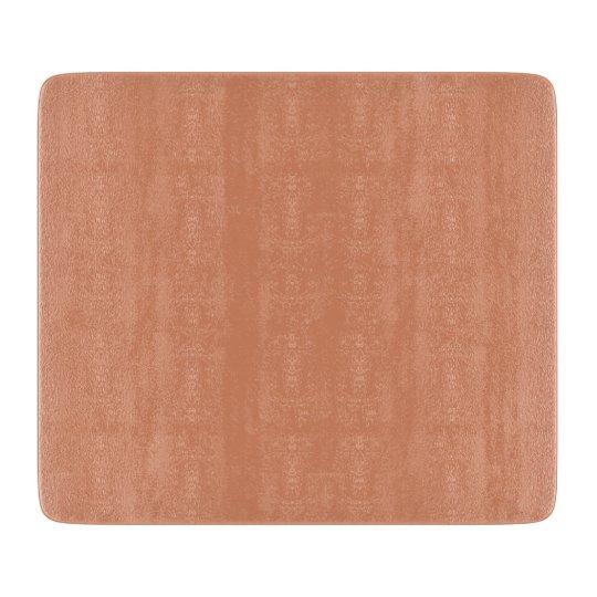 Pale Copper Contemporary Colourful Cutting Board