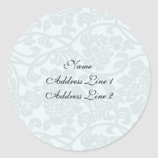 Pale Damask Address Labels