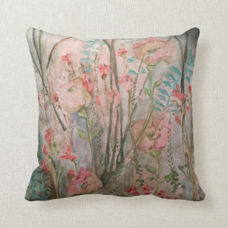 Pale Flowers Cushion