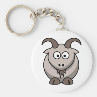 Pale goat keychains