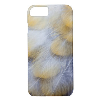 Pale Golden Thrush Feather Abstract iPhone 8/7 Case