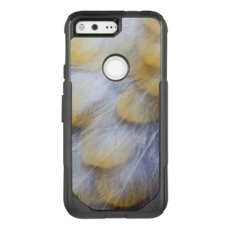 Pale Golden Thrush Feather Abstract OtterBox Commuter Google Pixel Case