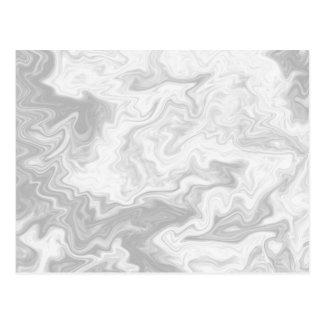 Pale Gray Random Pattern. Postcard