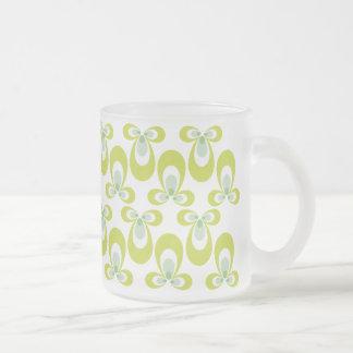Pale Green 60's Style Mug