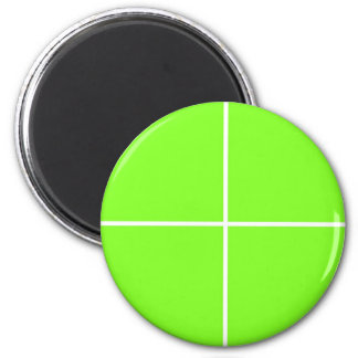 Pale GREEN  Blanc BUY Blank or ADD TEXT IMAGE Love 6 Cm Round Magnet